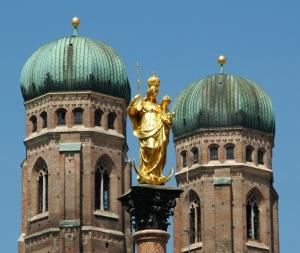 mariensäule vor der frauenkirche